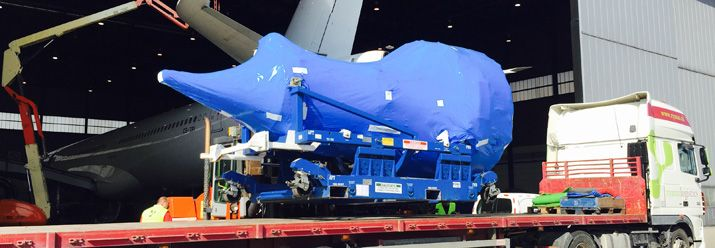 Herfurth Logistics delivers heavy cargo by air