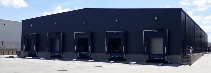 Herfurth Logistics has doubled its storage possibilities in Chaineux